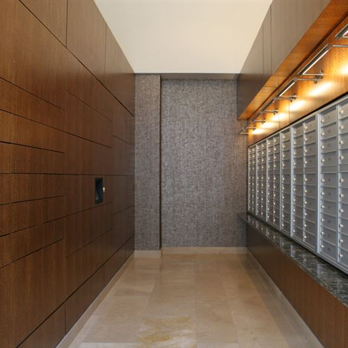 High-Rise Apartment Parcel Delivery Lockers