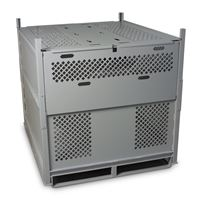 Universal Storage Container With Locking Capabilities for Pararigger Storage