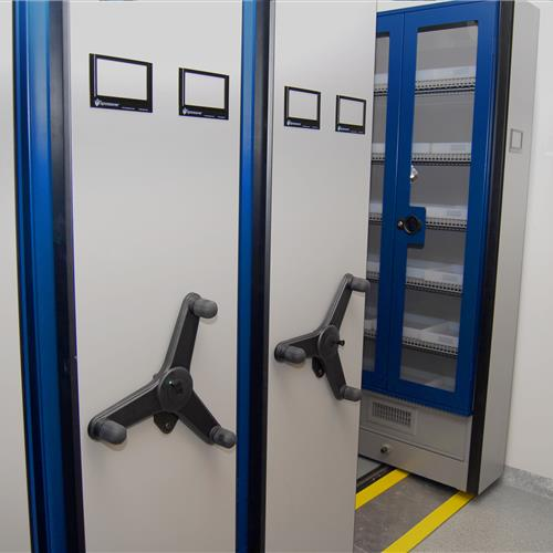 Pharmaceutical Storage of Compound Chemical at Pharmaceutical Manufacturer