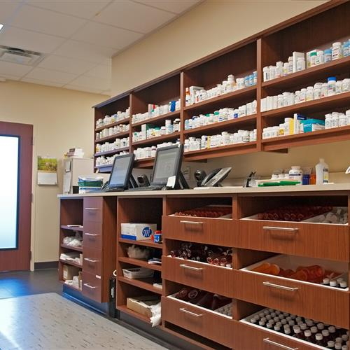 High Quality Modular Laminate Cabinets For Pharmacy Storage