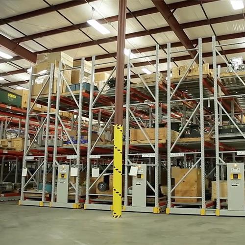 Wind Turbine Storage at Turbine Manufacturer
