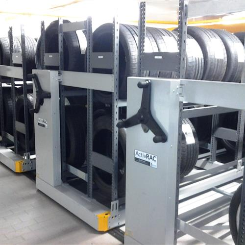 High-end Automotive Dealer Gets Top-line Tire Storage Solution