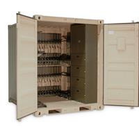 Universal Expeditionary Weapons Storage System for weapons shipping (UWESS)