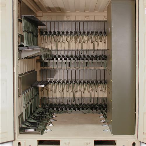 Interior Shot of Universal Expeditionary Weapons Storage System (UWESS)