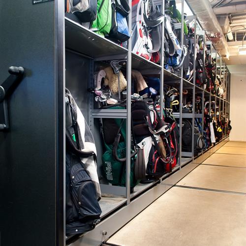 High Density Golf Club Storage