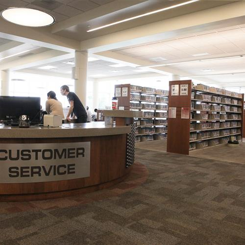 Library Shelving at Uintah County Public Library