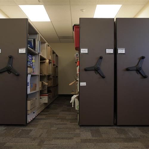 Compact Storage System at Uintah County Public Library