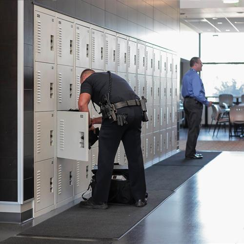 Parker Police Department Gear Lockers