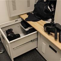 Parker Police Department Equipment Lockers