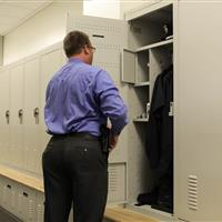 Parker Police Department Gear Lockers