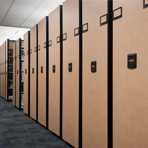 High Density Library Storage