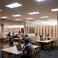 University Library Mobile Shelving for Book Storage