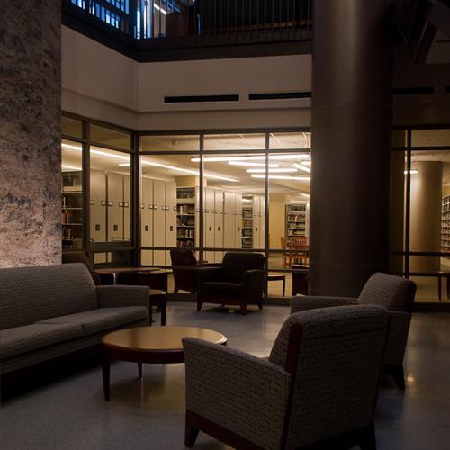 Library Storage at Emory University