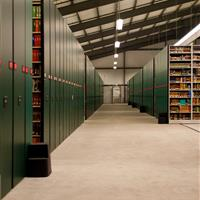 University of Alabama Library Annex Storage Systems