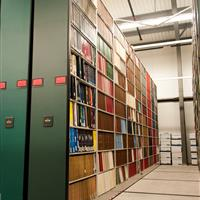 Book Storage at University of Alabama Library Annex