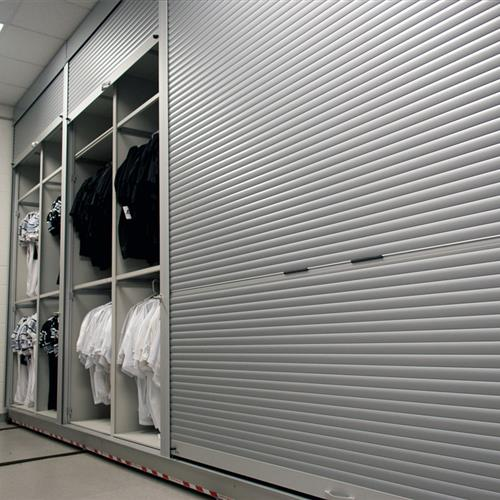 Secure Football Uniform Storage System