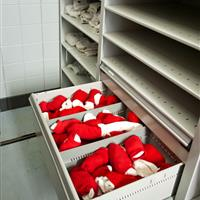Modular Drawer Storage for Football Equipment
