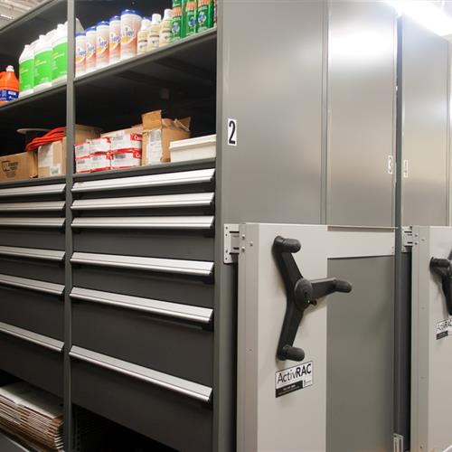 High Density Storage for Military Maintenance Storage