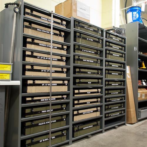 Army Reserve Maintenance Storage