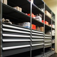 Modular Drawer Systems for Military Maintenance Supply Storage