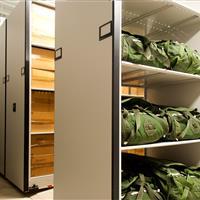 Military Parachute Storage