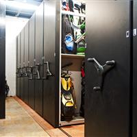 High Density Storage for Golf Bags