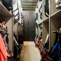 Golf Bag Storage