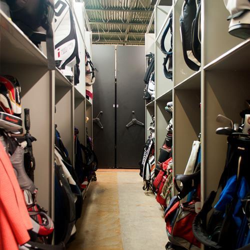 Golf Bag Storage
