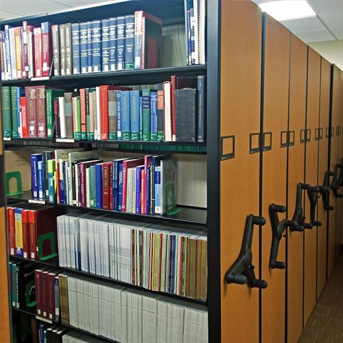 High Density Shelving for Medical Libraries