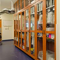Laminate Cabinets for Medical Supply Storage