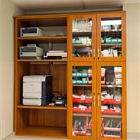 Laminate Cabinets for Healthcare Storage