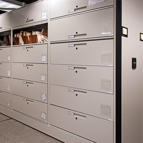 High Density Secure Records Storage