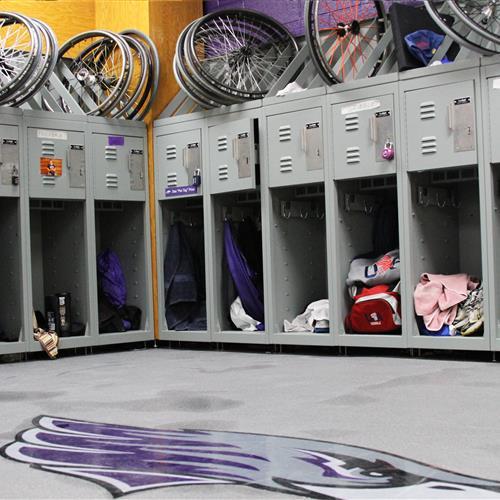UW Whitewater Wheelchair Basketball Freestyle Lockers