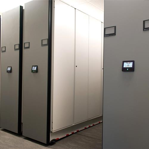 Secure Records Storage at Natural Gas Company by Touch Technology Control