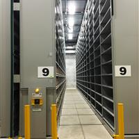 Off-Site Archival Library Storage at Verona Shelving Facility