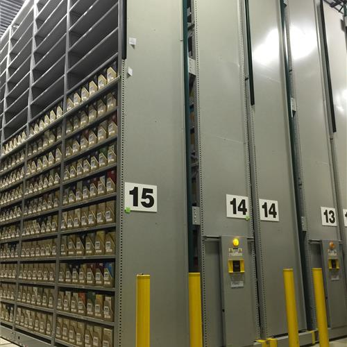 Library Archive Storage at Verona Shelving Facility