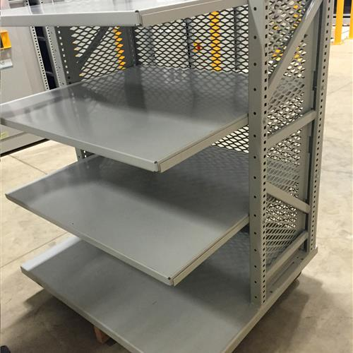 Custom Cart for Verona Off-Site Library Shelving Facility