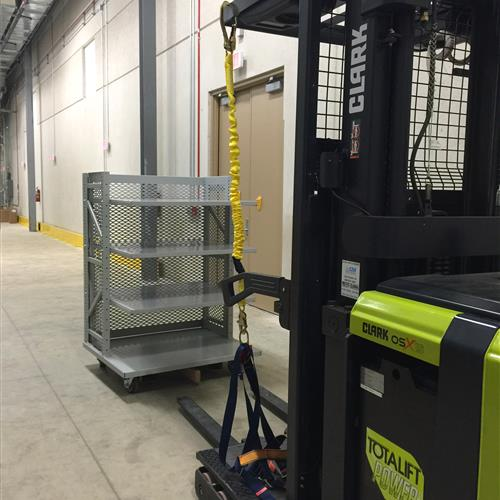 Wheeled Custom Carts for Library Storage System