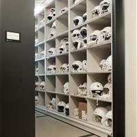 UT Football Helmet Storage