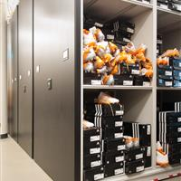 Football Gear and Cleat Storage