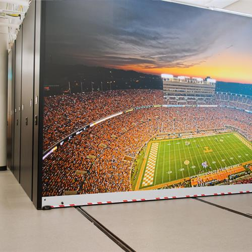 High Density Football Equipment Storage at UT