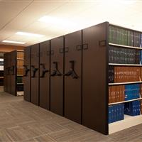 High Density Storage for Medical Center Library
