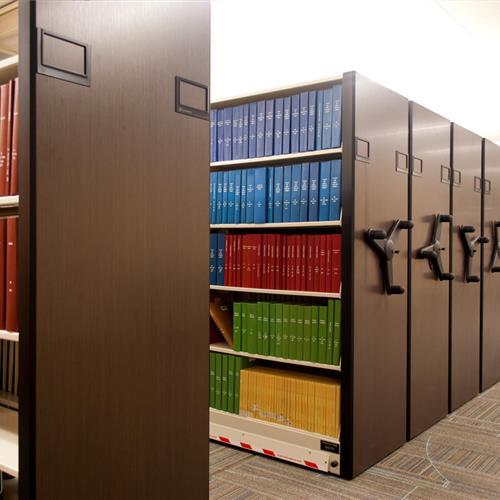 High Density Library Storage