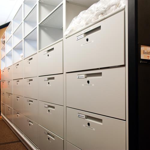 Modular Drawer Storage for Athletic Gear