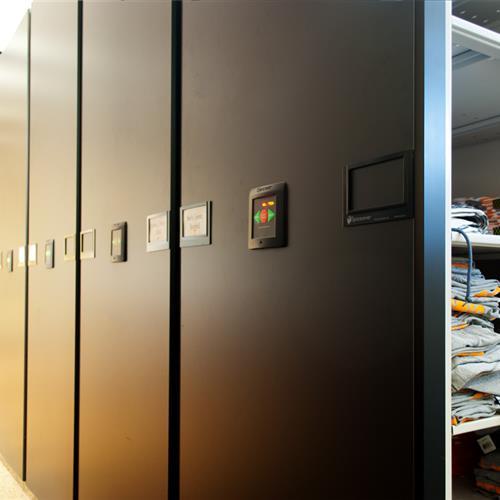 High Density Athletic Gear Storage