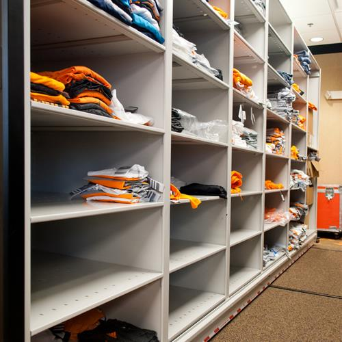 University of Tennessee Athletice Department Storage System
