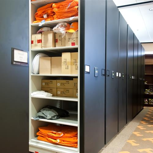 Athletic Gear and Uniform Storage