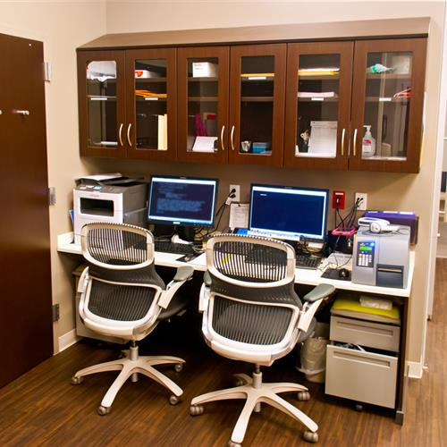 Pharmacy Work Stations