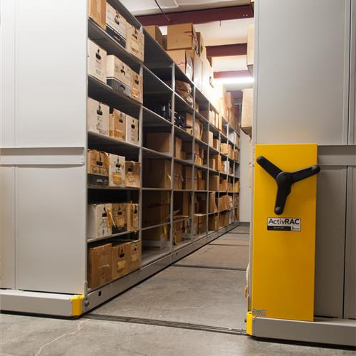 Knoxville Police Department Evidence Storage
