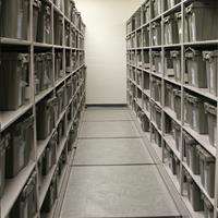 High-Density Mobile Shelving with Inmate Property Storage at Wake County Detention Center, North Carolina